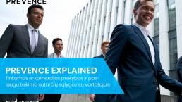Prekybos ir paslaugų teikimo sutarčių sąlygos su vartotojais PREVENCE