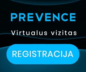 PREVENCE virtualus vizitas